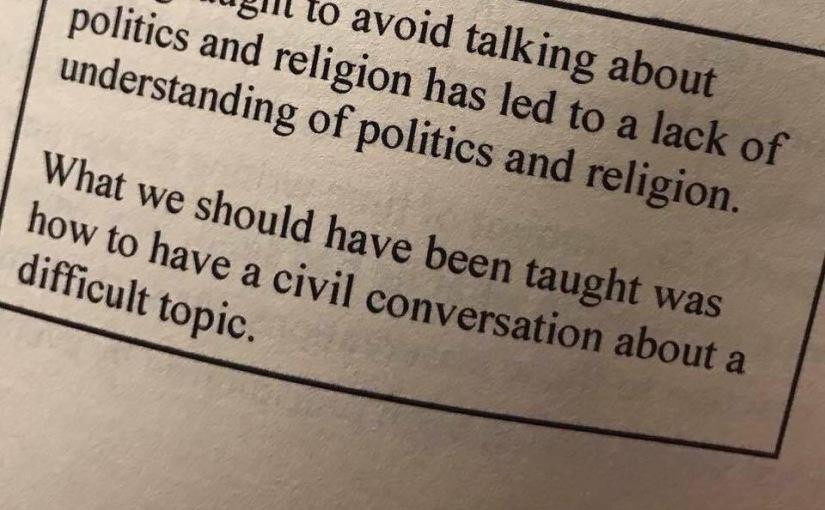 Discussing Politics andReligion